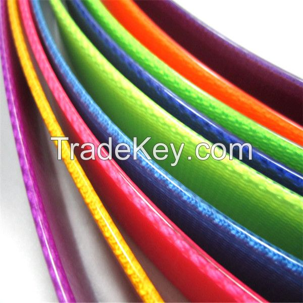 colorful and flexible TPU caoted Nylon webbing