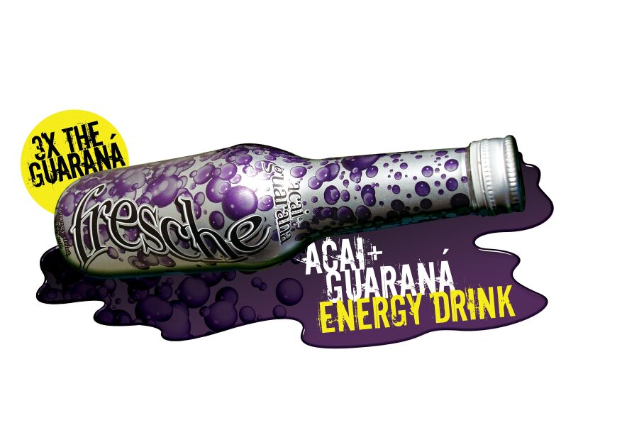 Fresche Acaia and Guarana Energy Drink