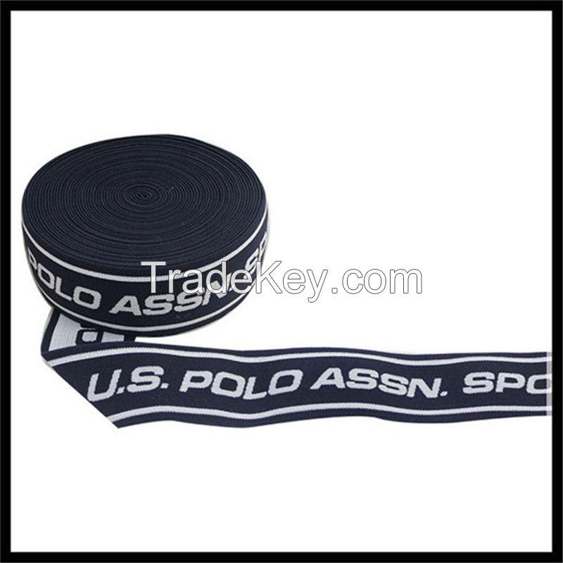 38mm jacquard elastic waistband