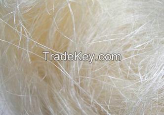 100% natural raw sisal fiber