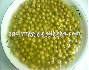 canned green peas