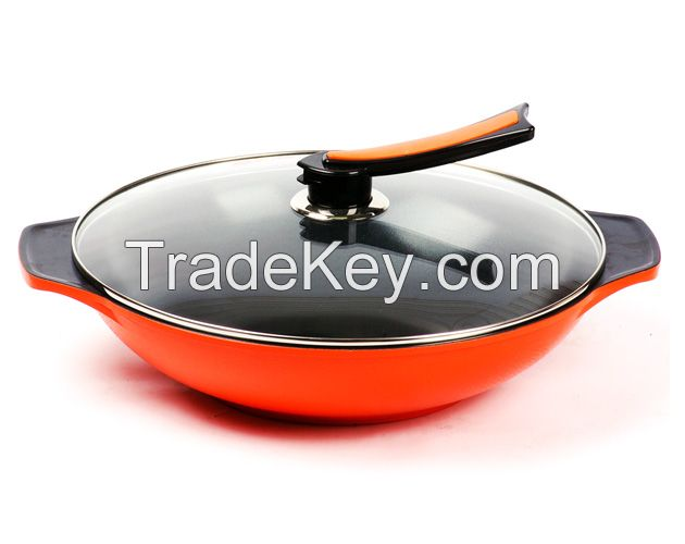 Multi purpose jumbo wok / steamer