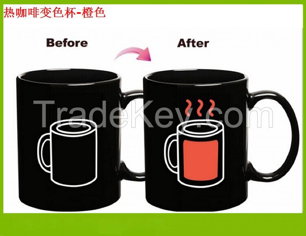Logo Customized Color Changing Ceramic Mug