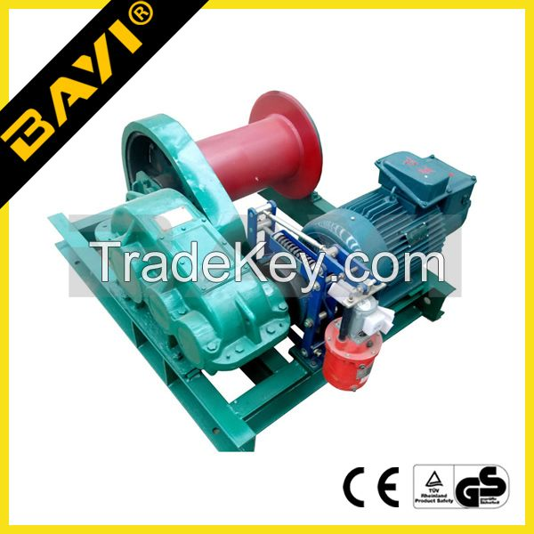 high speed electric winch using for industry crane