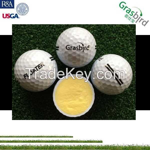 china factory 2 layer water lake practice ball floating golf ball