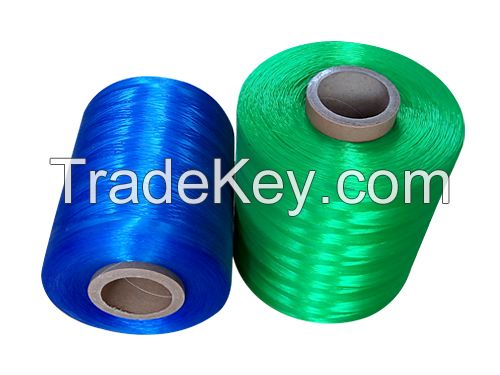 pe monofilament yarn/plastic poly flat yarn /fishing line