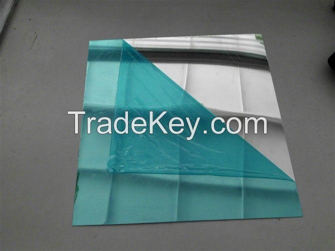 Aluminum 0.45/0.48mm Bright Polished Mirror Finish Sheet Various Sizes Available