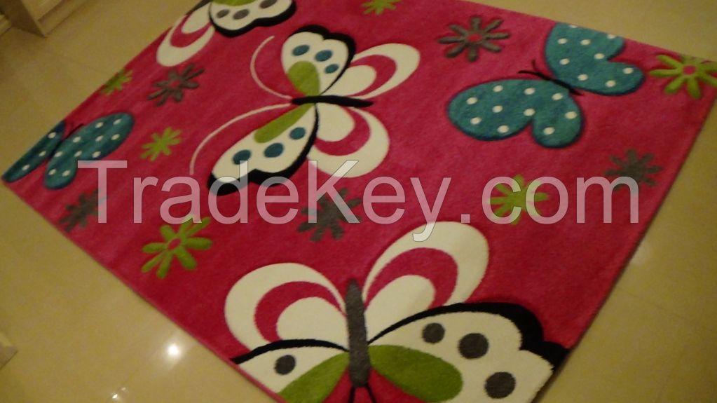 Hand Carved Frize Carpet