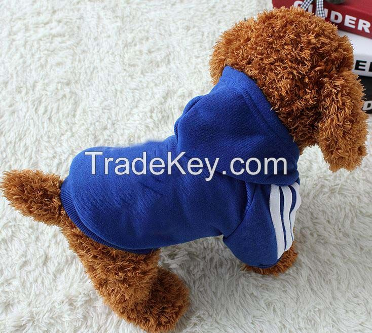 popular dog clothes with the good design for pets