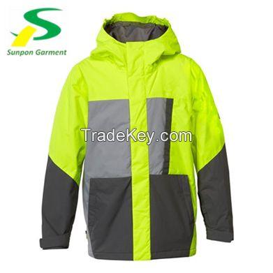 winter warm safety reflective jacket in en-471 standard for guarantee