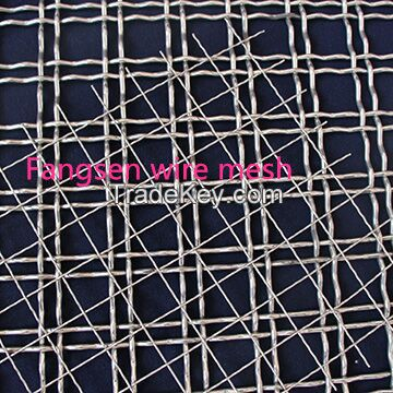 slags and aggregates self-cleaning mesh