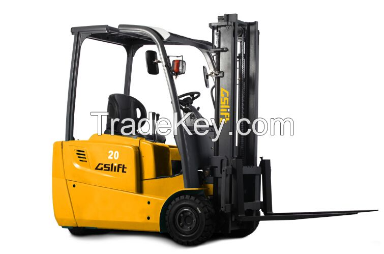 3-Wheel Electric Forklift (1.8 Ton)
