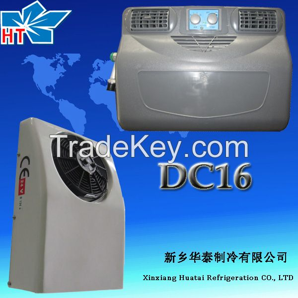 Roof mounted DC powerd airelectrical truck air conditioner DC16
