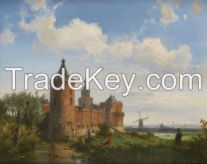 Antiques and antique paintings from Europe