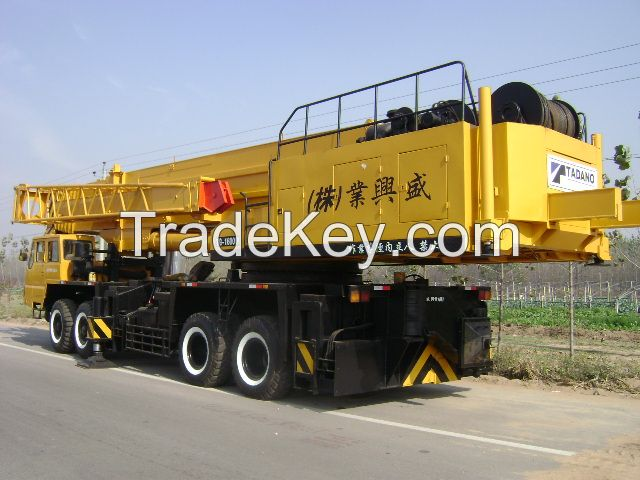 used TADANO truck crane160ton
