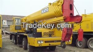 used KATO truck crane 55ton NK550-VR