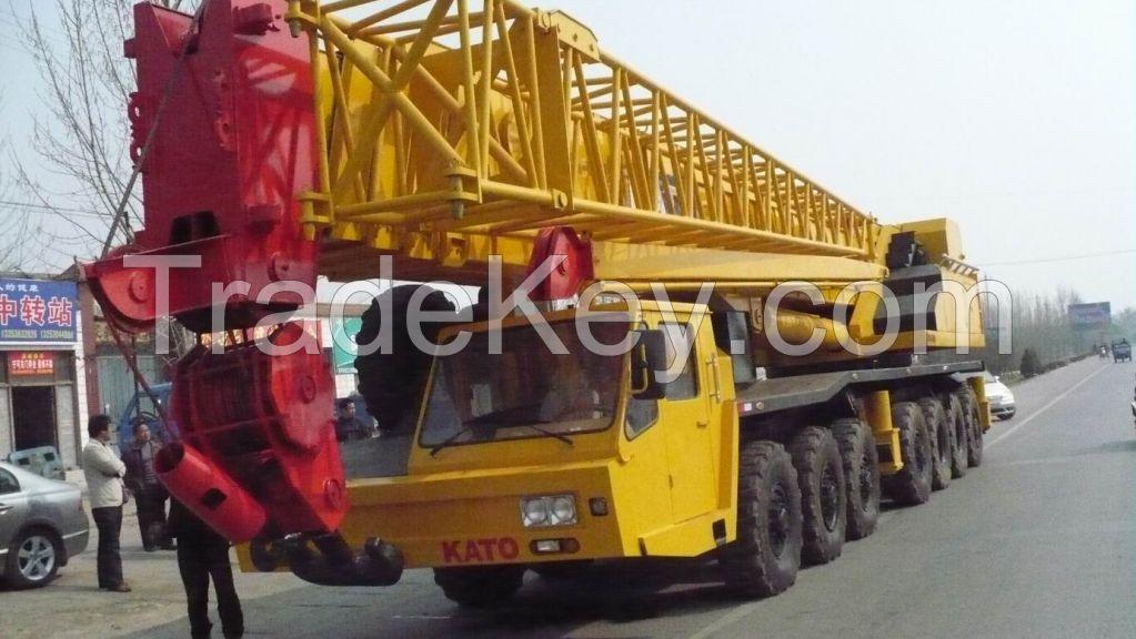 used KATO truck crane 160ton NK1600E