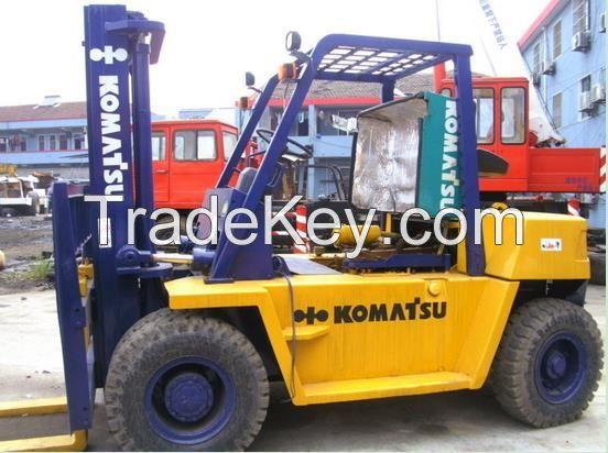 Used 3ton, 7ton, 10ton Komatsu Forklift, used 3ton Komats forklift
