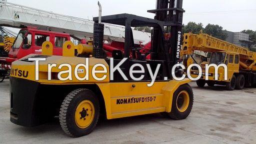 Used 3ton, 7ton, 10ton, 15T Komatsu Forklift, used 3ton Komats forklift