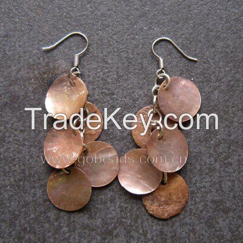 Lady's Gemstone opal rhinestone filled earrings and sets