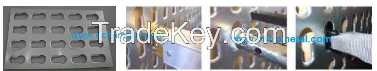 Keyhole Panel Symmetric for Garment transport