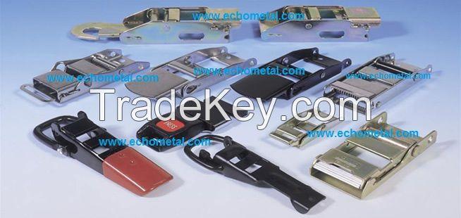 overcenter buckles for lashing straps