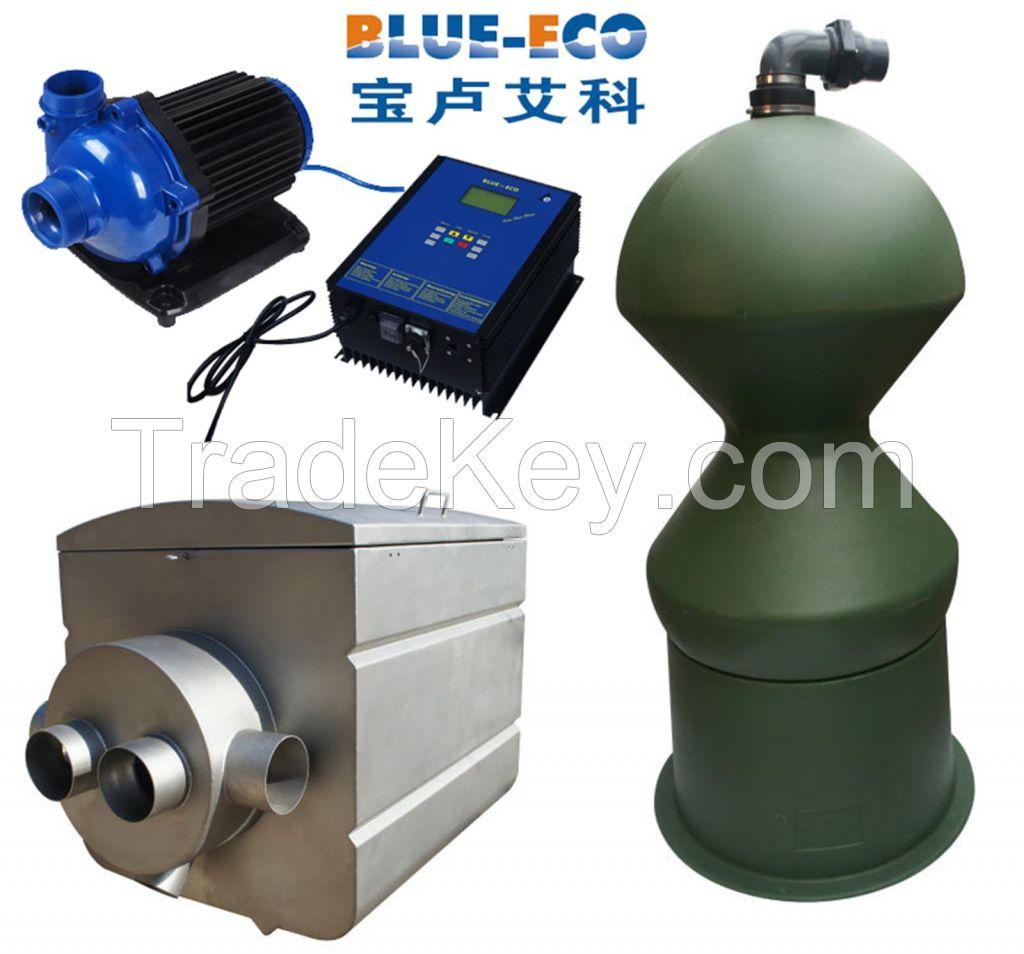 No maintenance no noice energy saving water treatment system