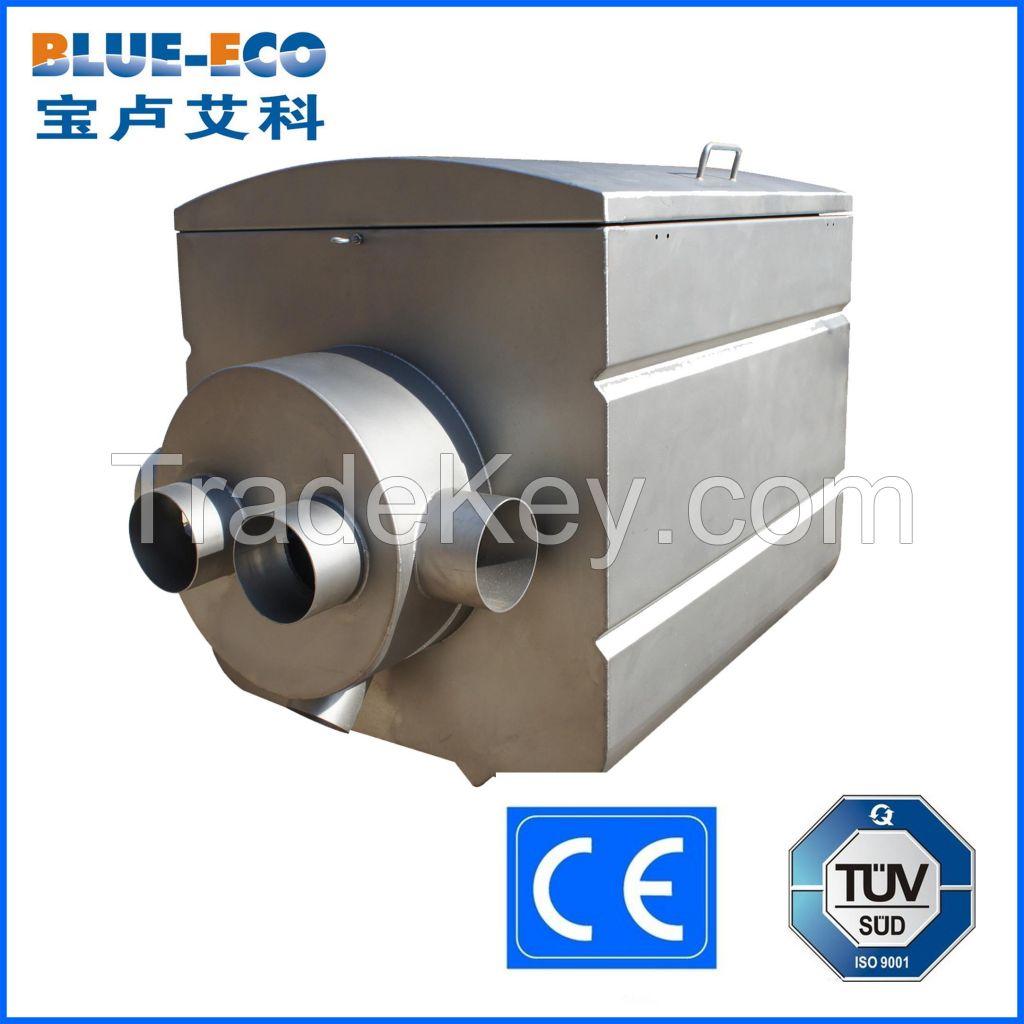 BLUE-ECO no maintenance koi pond fish farm drum filter