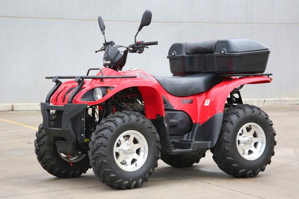 quad bike 500cc 4x4 EEC approval
