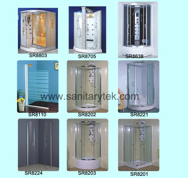 shower room,shower enclosure,sauna steam room,sanitary ware