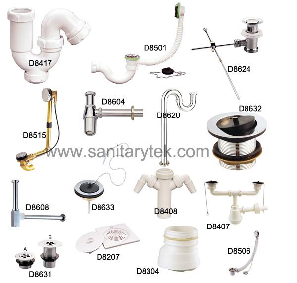 plastic drainer,basin drainer,glass basin,bathtub waste,toilet tube