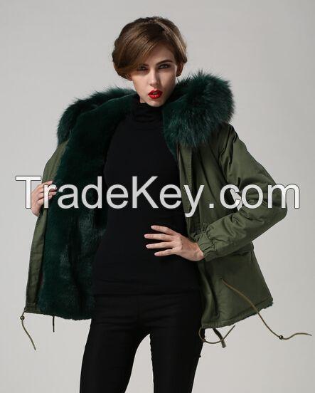 Fahion women Fur, Lamb Skin Fur Coats, Lamb Fur with Top Quality Lamb Fur