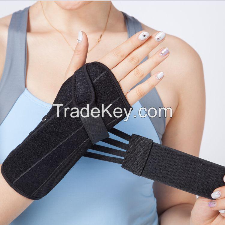 lace up wrist wraps aluminum bars padded wrist fracture splint wrist support brace