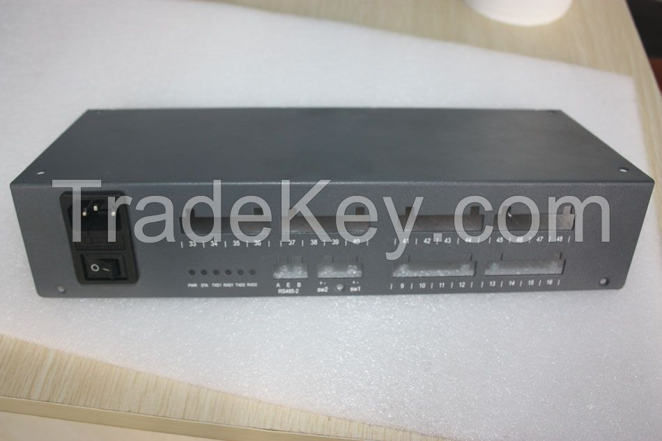 Customized Rackmount/ metal Chassis for e-communication