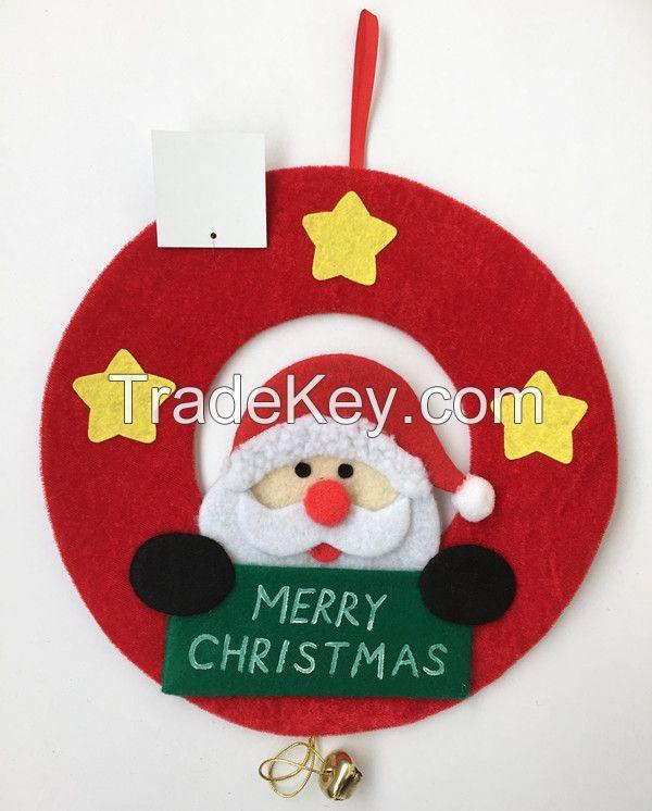 Bell Father Mr Santa Xmas Decoration Christmas Door Hanger Hanging