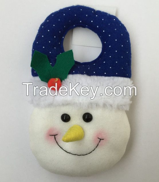Wholesale Santa Xmas Decoration Christmas Door Hanger