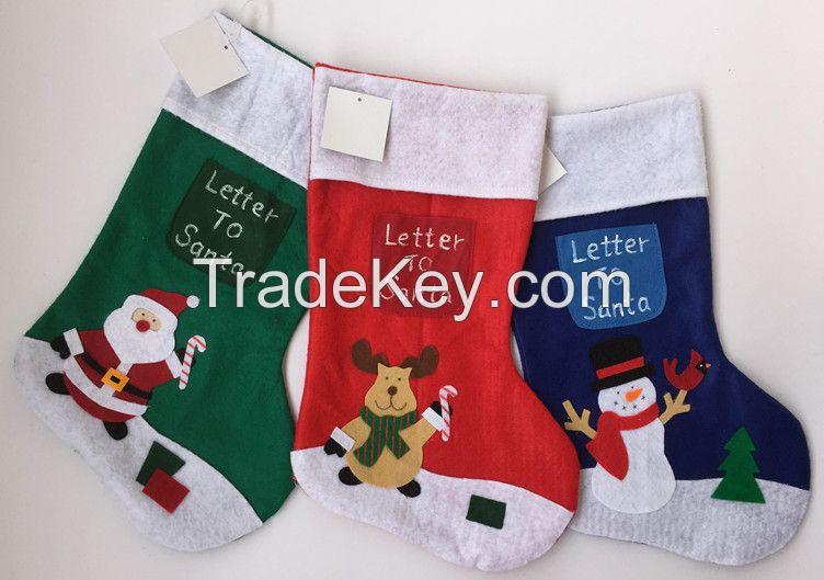Wholesale Santa Xmas Decoration Christmas Stocking