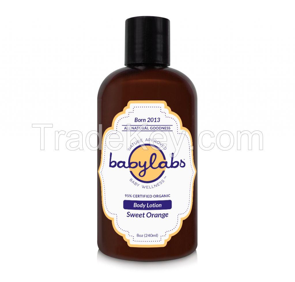 BODY LOTION (Organic - Sweet Orange) (8oz) 240ml