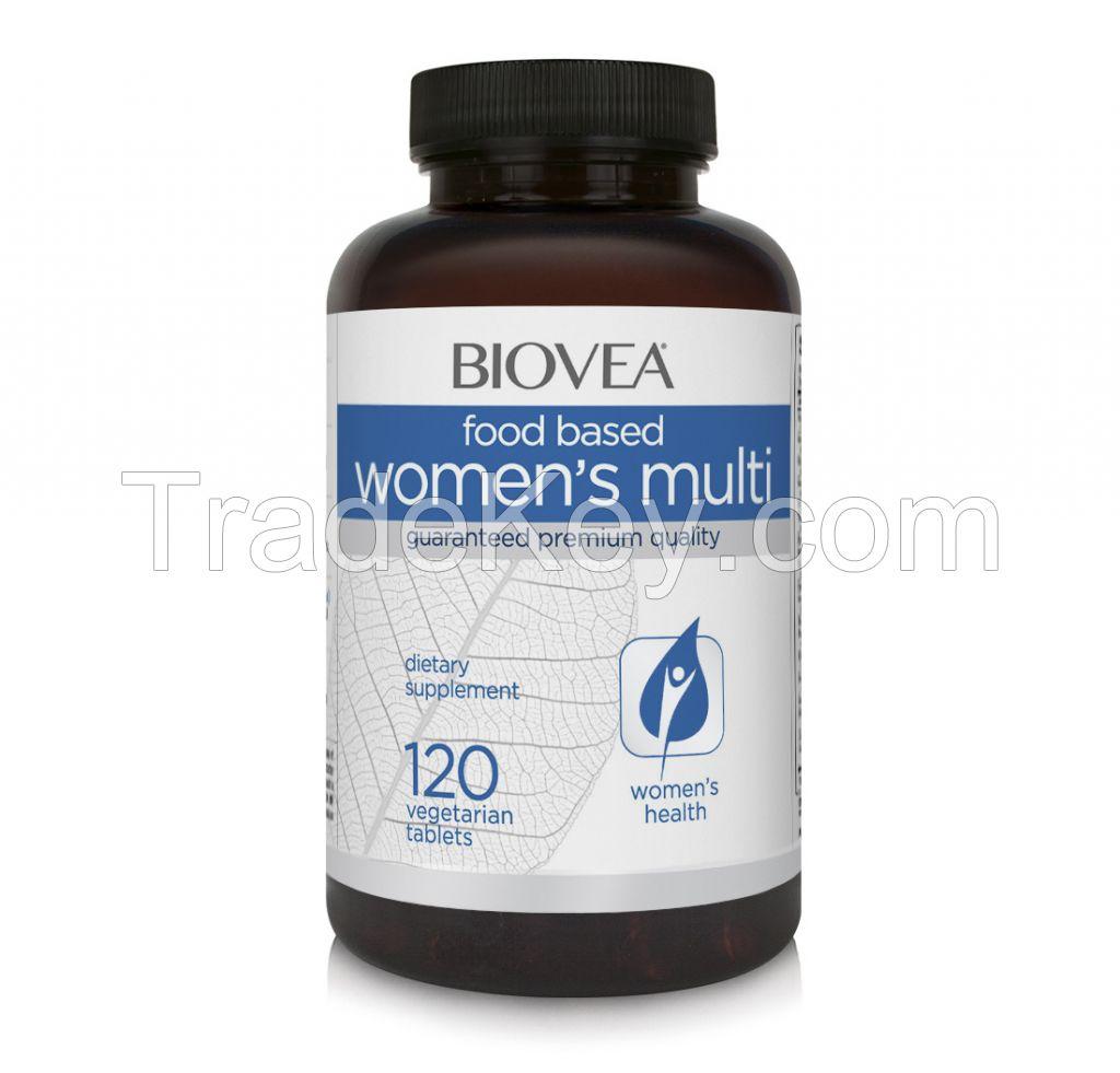 WOMEN'S MULTI (FOOD BASED) 120 Tablets