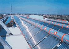 27 Tube Vacuum Solar Water Heater, 170 liter tank