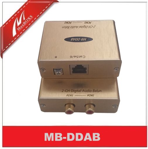 Digital Audio Extender/SPDIF Coaxial Audio Extender Over Cat5e/6