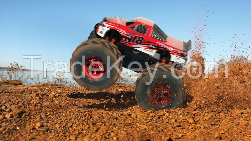 1:8 scale big wheel rc truck