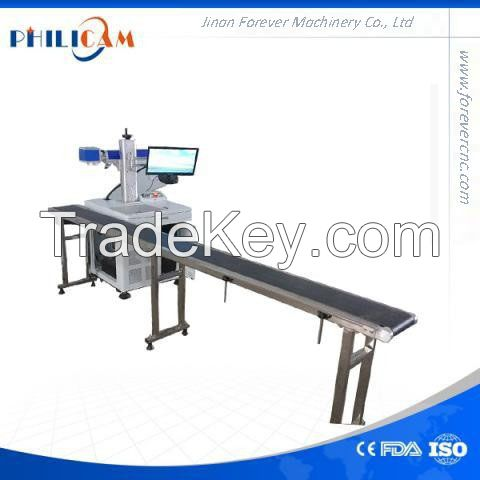 production date and expiry date fiber laser marking machine