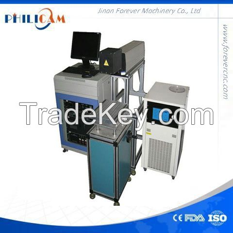 Philicam CO2 80w fiber laser marking machine