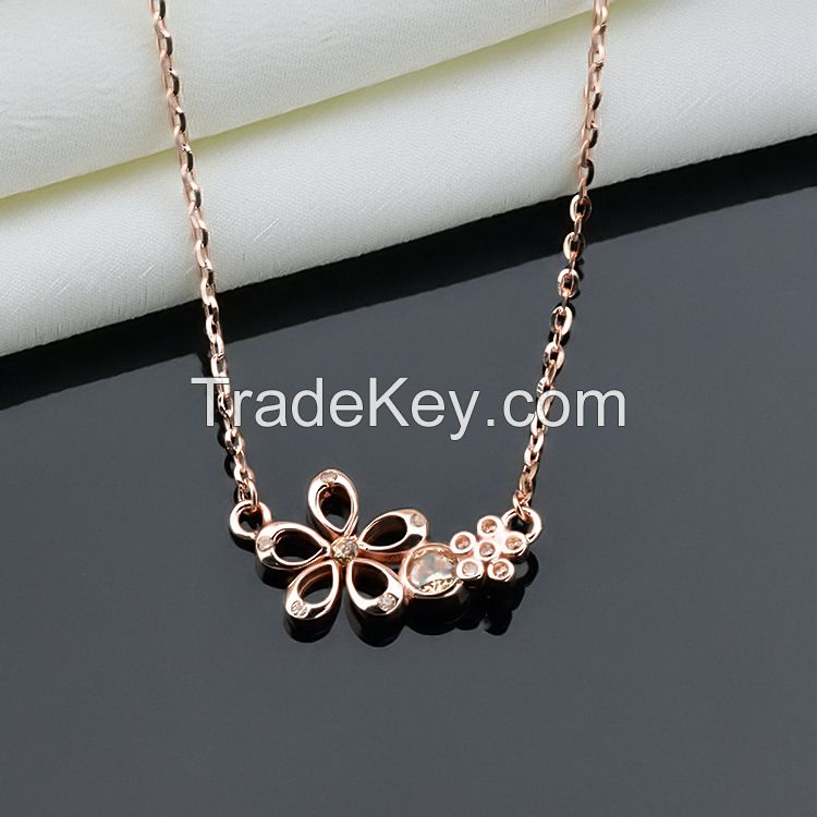 2015 fashion necklace ,100% 925 sterling silver statement necklace !