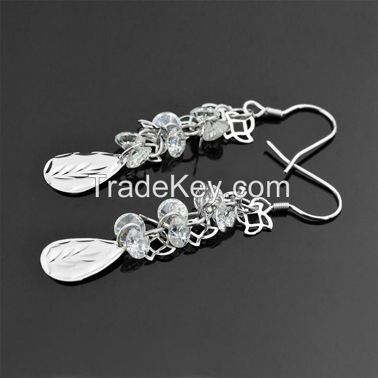 925 sterling silver earrings !beautiful designed earrings!