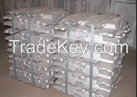 99.995 zinc ingot In zinc plating, manufacture of brass