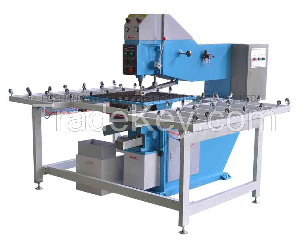 Glass horizontal drilling machine