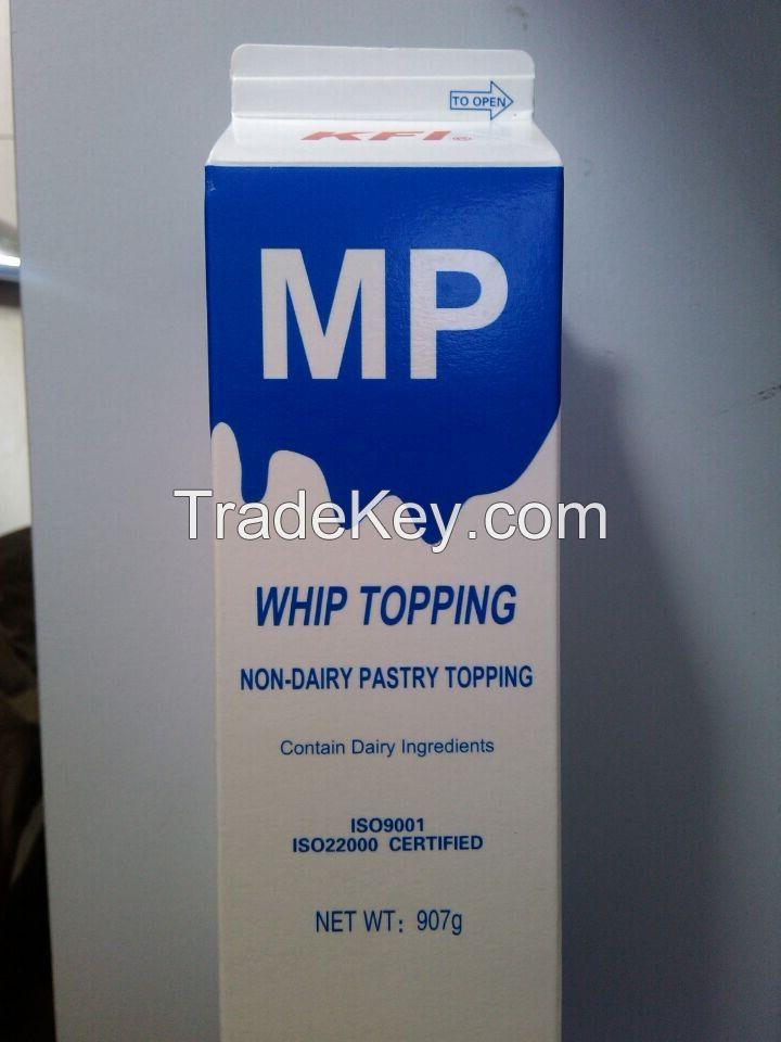 Non dairy whipping cream