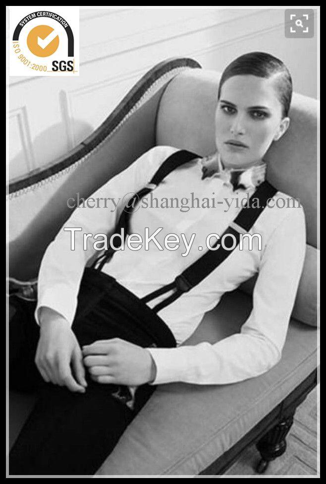 2.5CMS High quality PU Elastic  Suspender For Garments